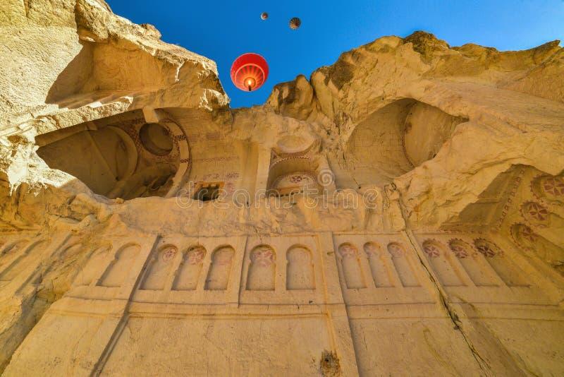 Maison de roche dans Cappadocia image libre de droits