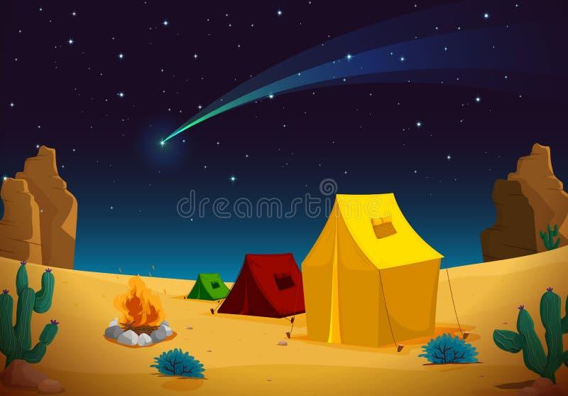 Maison de tente illustration libre de droits
