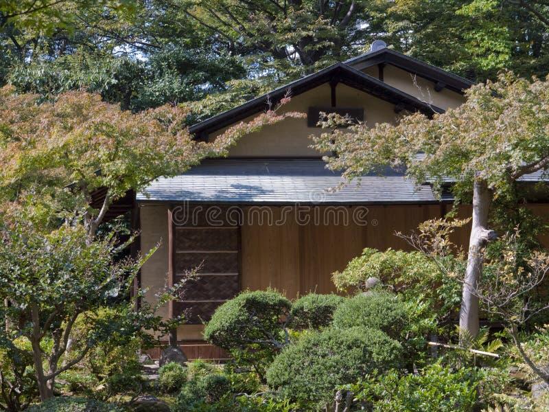 maison de th japonaise photos stock image 11627343. Black Bedroom Furniture Sets. Home Design Ideas