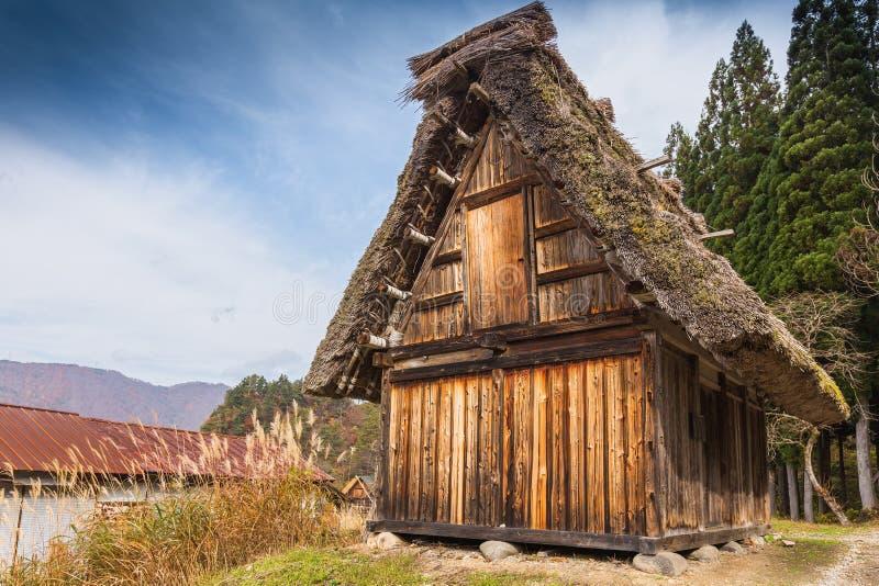 Maison de tradition du Japon image libre de droits