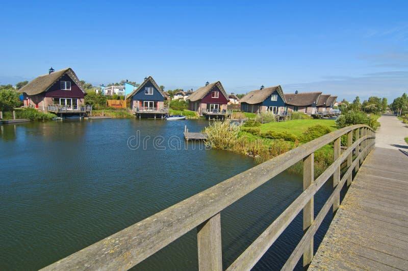 Maison de vacances du Danemark photo stock
