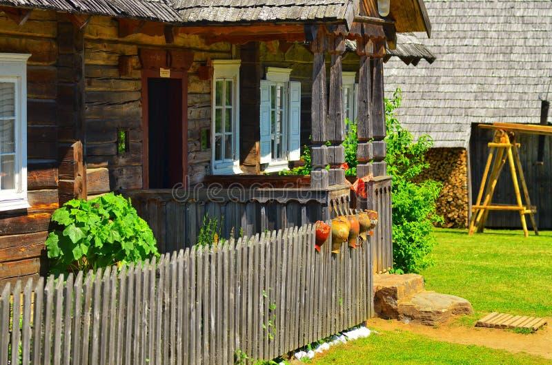 Maison de vieux type photos stock