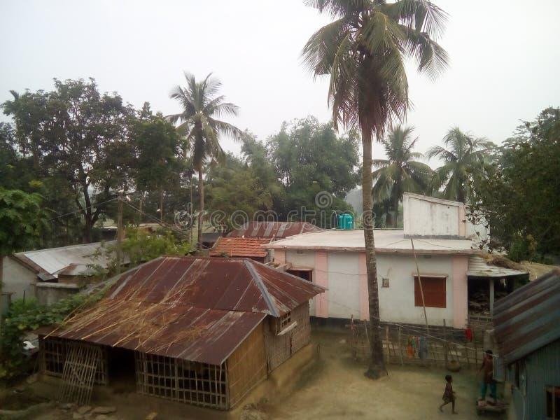 Maison de village photo libre de droits