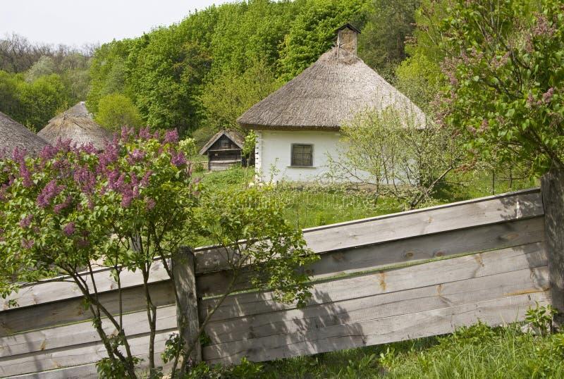 Maison de village photographie stock libre de droits