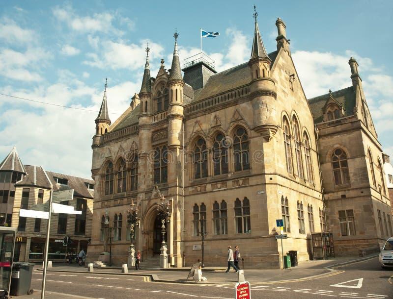Maison de ville Inverness images stock