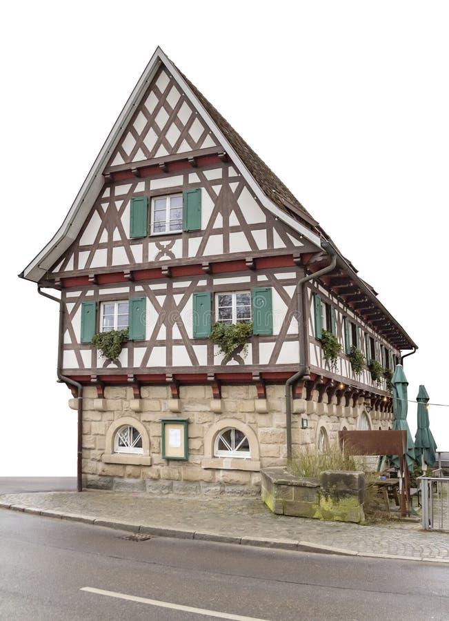 Maison de vue en Allemagne du sud photo stock