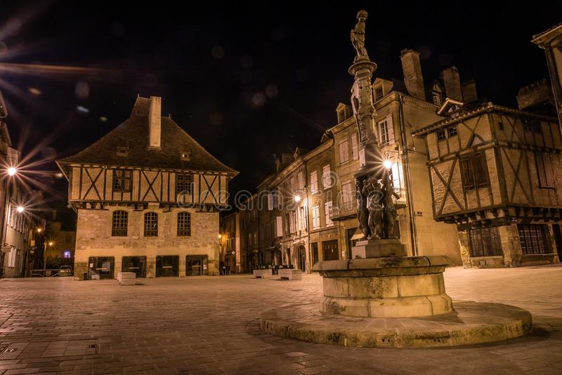 Maison des consuls on Mercadial square in Saint Cere royalty free stock photography
