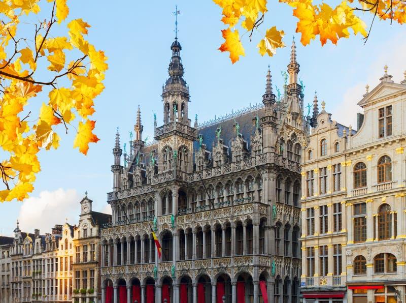 Maison du Roi, Brussel stock foto's