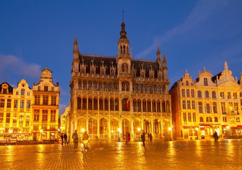 Maison du Roi, Bruxelas fotografia de stock