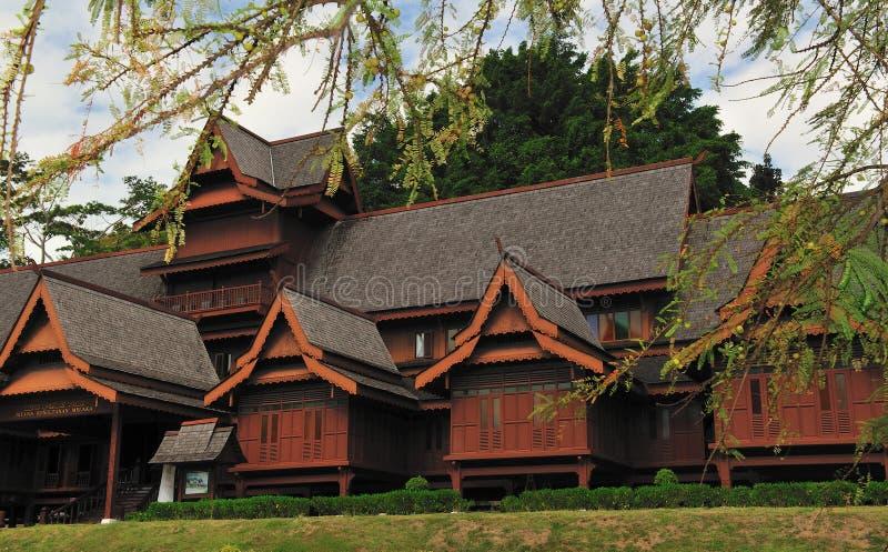 Maison du sultan du melaka image libre de droits