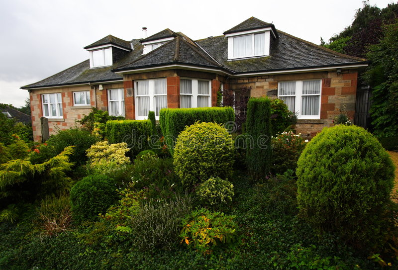 maison Ecosse résidentielle photos libres de droits