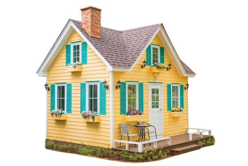 Download Maison en bois photo stock. Image du extérieur, pays - 77155298