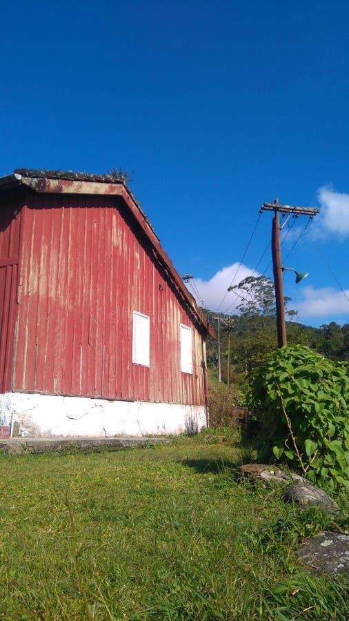 Maison en bois d'Ood images stock