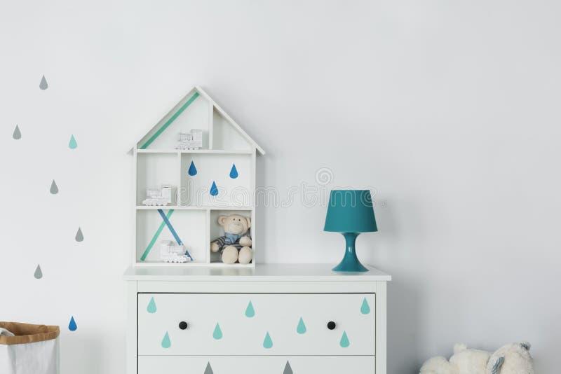Maison en bois de jouet photos stock