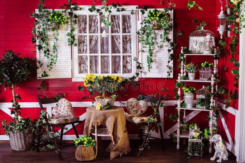 Maison en bois de style américain photographie stock