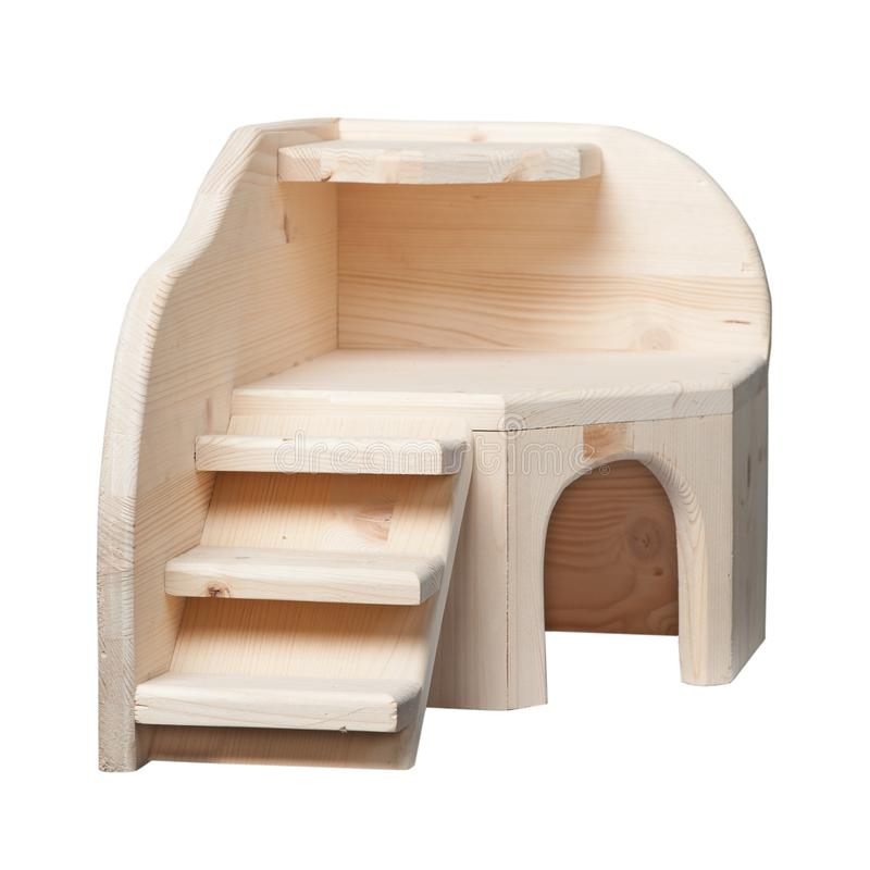 Maison en bois pour des rongeurs photos libres de droits