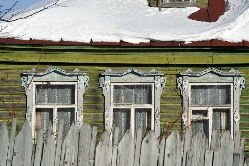 maison en bois russe traditionnelle photo stock image du fantastique antiquit 41004606. Black Bedroom Furniture Sets. Home Design Ideas