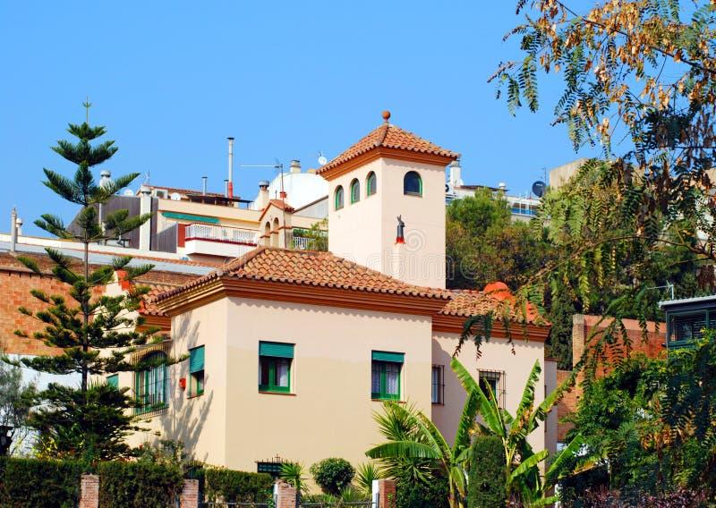 Maison espagnole image libre de droits