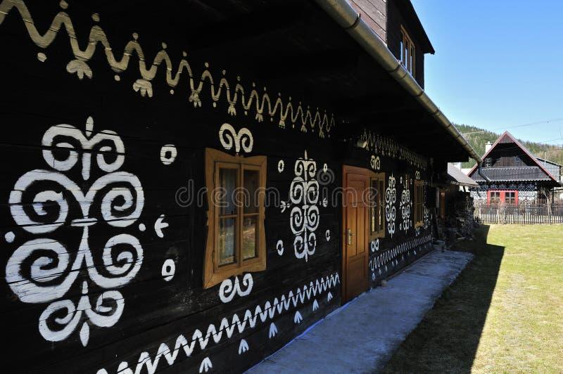 Maison folklorique peinte