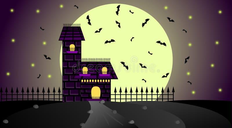 Maison gothique illustration libre de droits