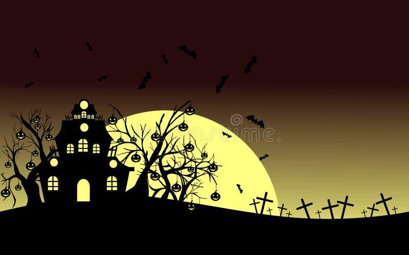 Maison gothique illustration stock