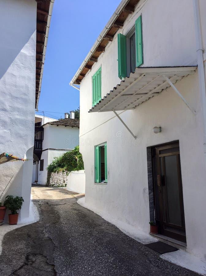 Maison grecque traditionnelle photo libre de droits