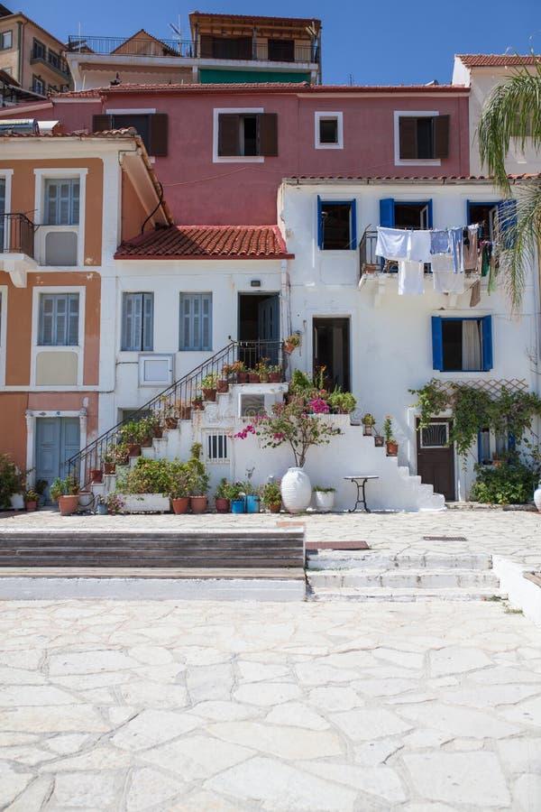 Maison grecque traditionnelle photos libres de droits
