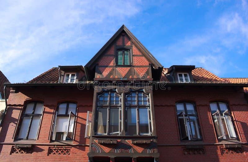 Maison-IV-Lueneburg de cadre photo libre de droits