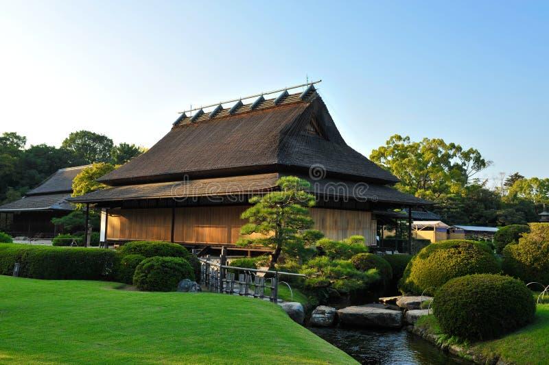 Maison japonaise photo stock