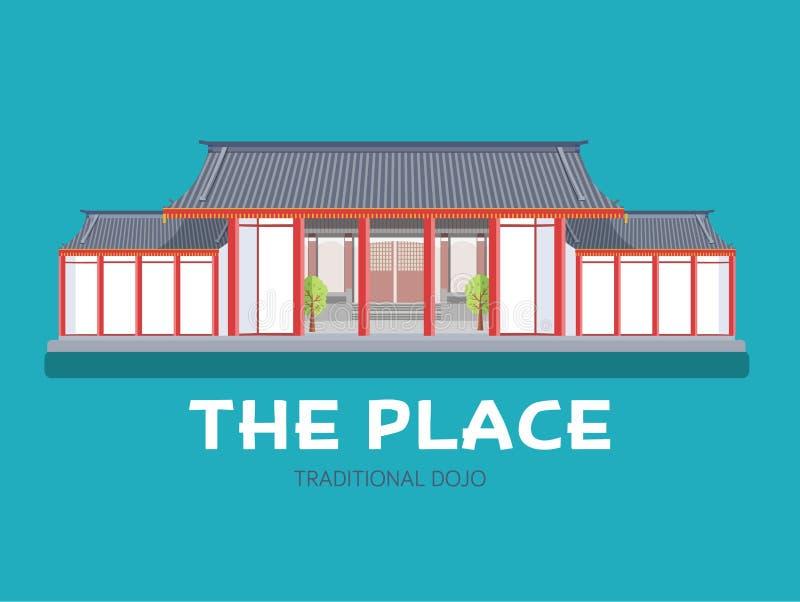 Maison japonaise d 39 architecture dans le concept plat de for Conception d architecture maison gratuite