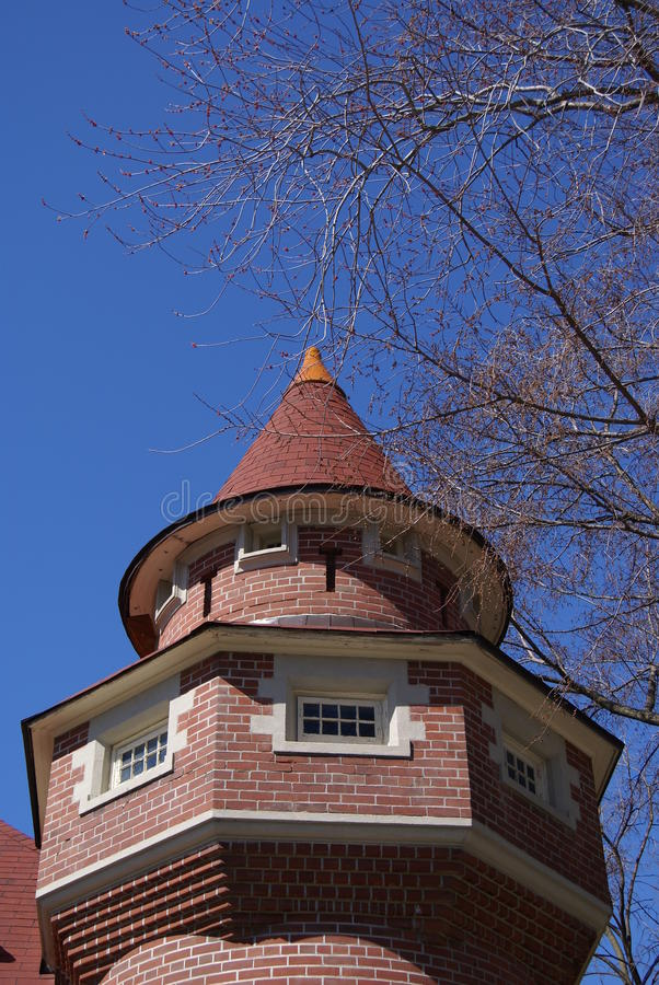 Maison Loma Castle Complex, Toronto, Canada images stock