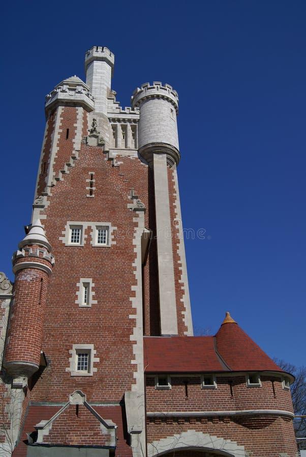 Maison Loma Castle, Toronto, Ontario, Canada images libres de droits