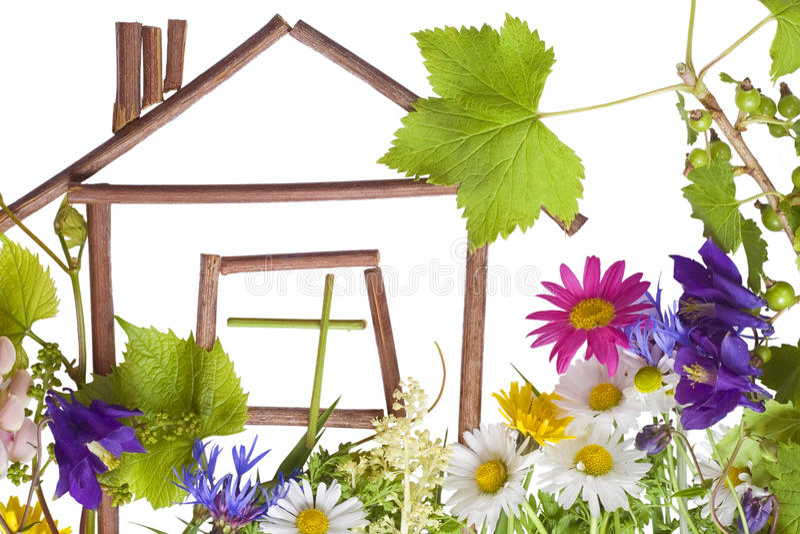 Maison, maison douce? image stock