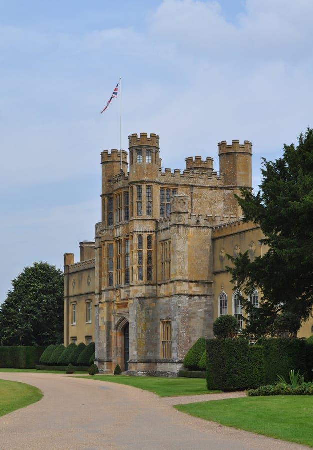 Maison majestueuse anglaise Worcestershire les Midlands Angleterre R-U de cour de Coughton image stock