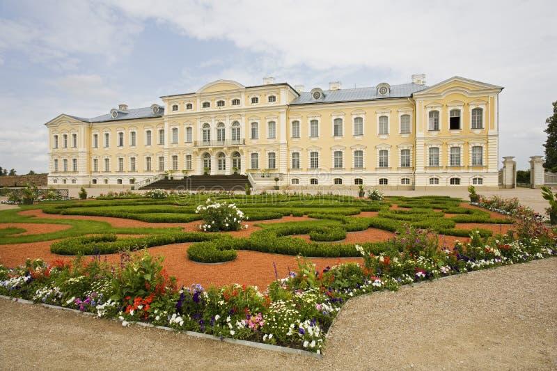 Maison majestueuse en Lettonie photo stock