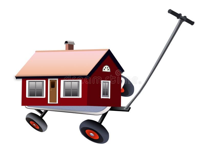 Maison mobile illustration stock