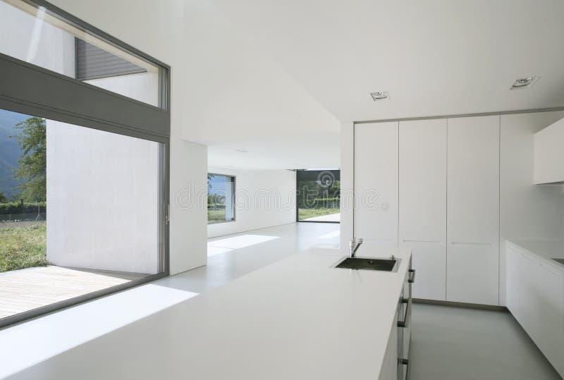 Maison moderne intérieure image stock