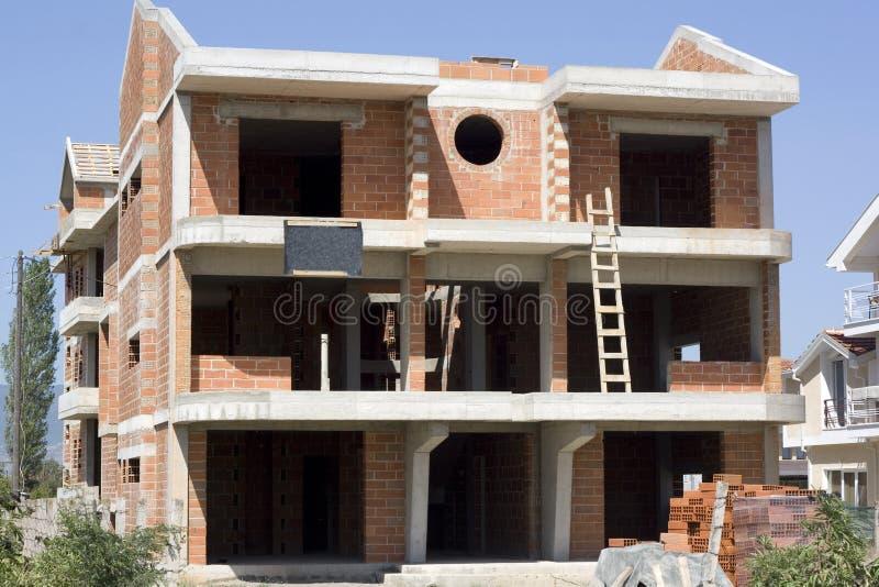 Maison moderne neuve photo libre de droits