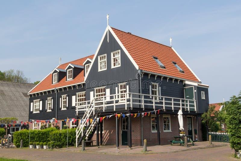 Maison néerlandaise de pêcheurs images stock