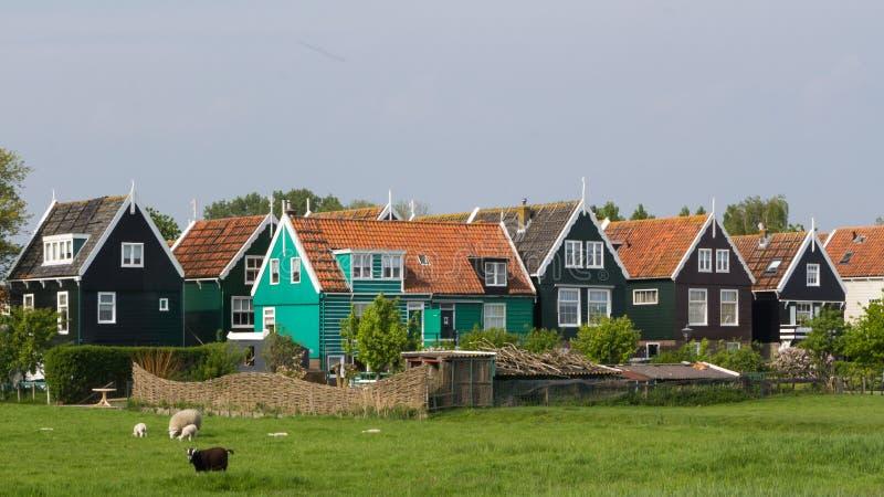 Maison néerlandaise de pêcheurs image libre de droits