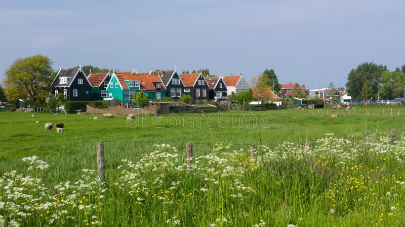 Maison néerlandaise de pêcheurs photographie stock libre de droits