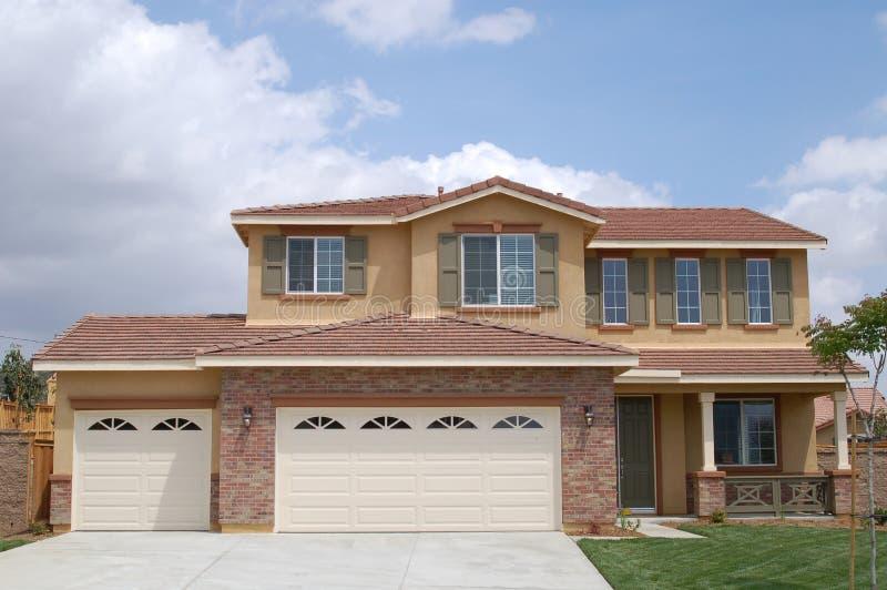 Maison neuve en Californie photo stock