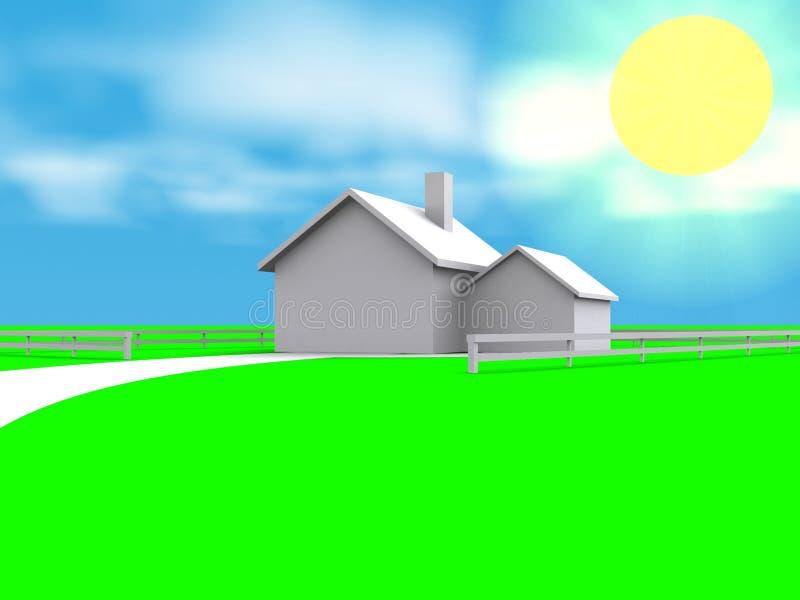 Maison parfaite illustration de vecteur