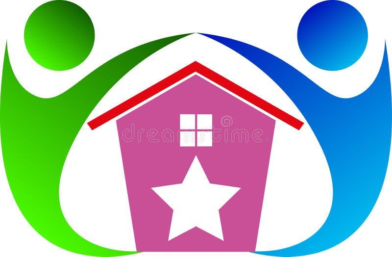 Maison pour le soin illustration libre de droits