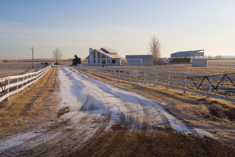 Maison rurale photo libre de droits