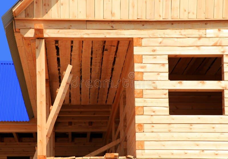 Maison rurale en construction image libre de droits