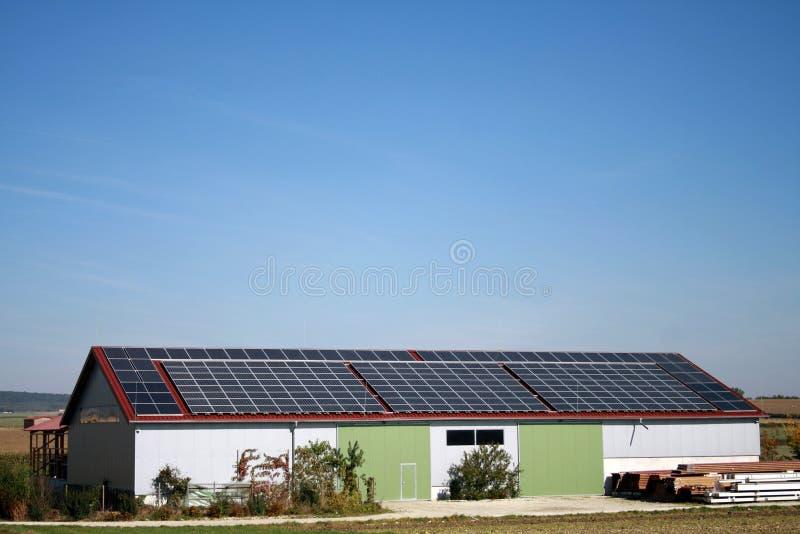 Maison solaire photo stock