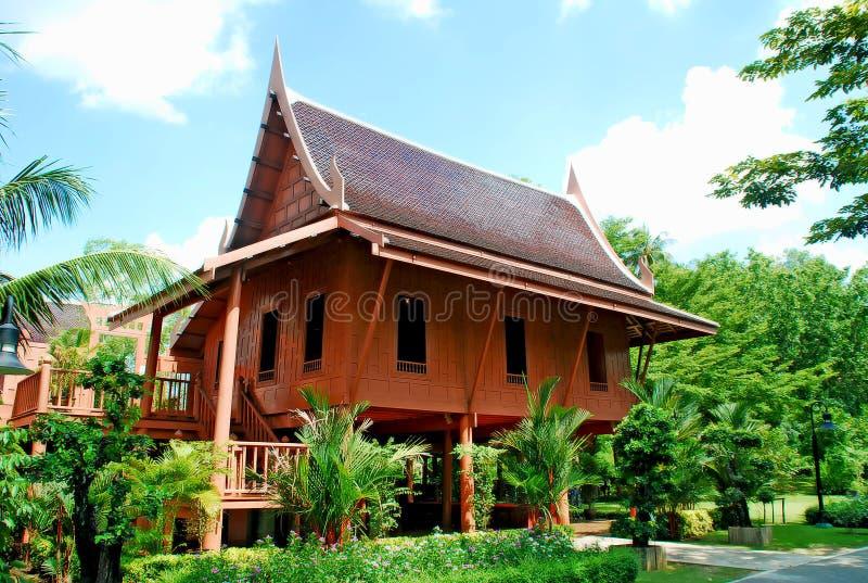 Maison thaïe photographie stock
