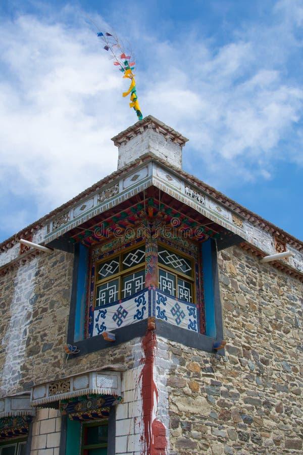 Maison tibétaine photos libres de droits