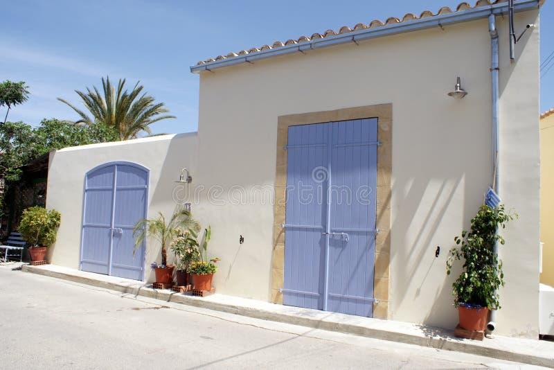 Maison traditionnelle à Nicosia photo stock